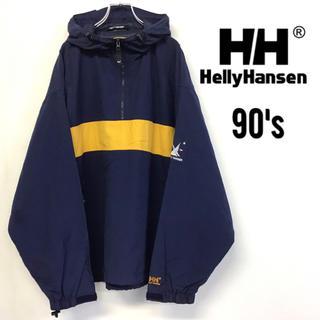 ヘリーハンセン(HELLY HANSEN)の美品◇Helly Hansen◇シーギア◇アノラックパーカー◇ナイロンジャケット(パーカー)