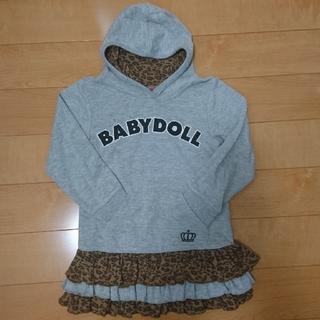 ベビードール(BABYDOLL)の中古品★ベビードール 110★チュニック(Tシャツ/カットソー)