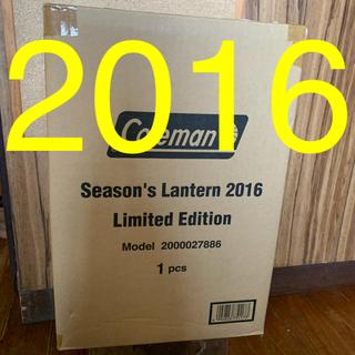 コールマン(Coleman)のコールマン シーズンズランタン2016 未開封新品(ライト/ランタン)