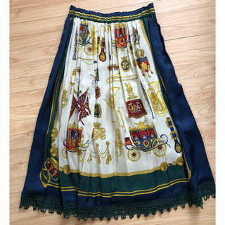 JaneMarple - ジェーンマープルロイヤルパレードmidiスカート