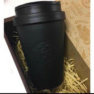 Starbucks Coffee - スターバックスマットブラックステンレスタンブラー