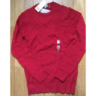UNIQLO - ユニクロ コットンカシミヤケーブルネックセーター