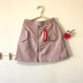 jouetie - ジュエティ MA-1 台形スカート