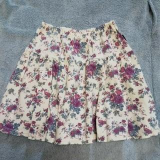 ベルメゾン - スカート 花柄 140