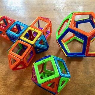 ボーネルンド(BorneLund)の幾何学マグネットブロック マグフォーマー(知育玩具)