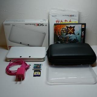 ニンテンドー3DS - Nintendo 3DS LL 本体ホワイト+備品