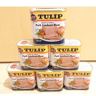 沖縄 TULIP チューリップ ポークランチョンミート340g 6缶セット