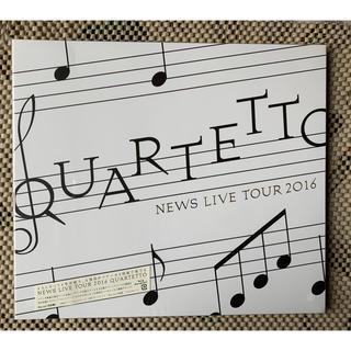 ジャニーズ(Johnny's)のNEWS LIVE TOUR 2016 QUARTETTO(初回盤) Blu-r(ミュージック)