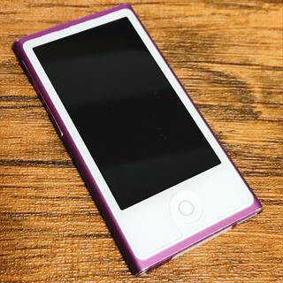 Apple - iPod nano アイポッドナノ Apple パープル 紫 世代不明