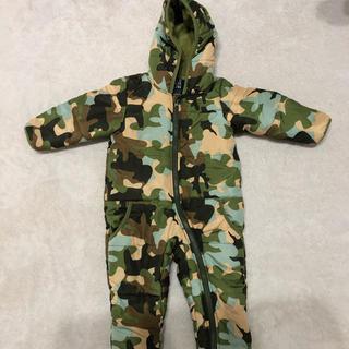 ジャンプスーツ 赤ちゃん 迷彩 80cm(その他)