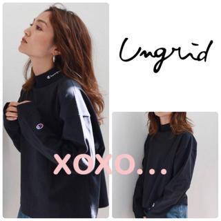 Ungrid - Ungrid Champion ハイネックショートロングスリーブTee