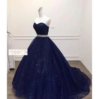 l.o.v.e.19様専用 カラーウェディングドレス ハートカット #ma353