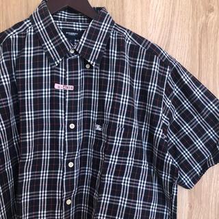 BURBERRY - [大人気] バーバリー 半袖シャツ チェックシャツ
