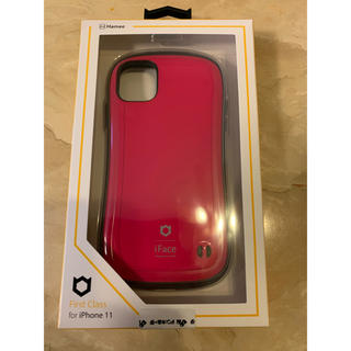 iFace first class ホットピンク iPhone 11