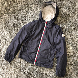 MONCLER - モンクレール 正規品 NEW URVILLE ネイビー 10A ナイロンパーカー