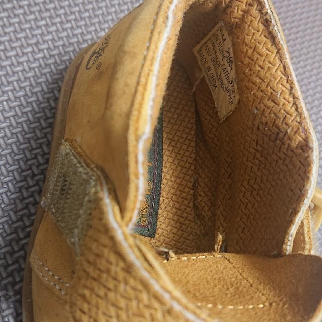 Timberland(ティンバーランド)の最終出品・Timberland  ティンバーランド キッズ/ベビー/マタニティのベビー靴/シューズ(~14cm)(ブーツ)の商品写真