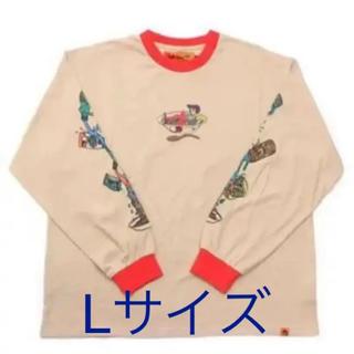 シュプリーム(Supreme)のレフトアローン ロンt Lサイズ(Tシャツ/カットソー(七分/長袖))