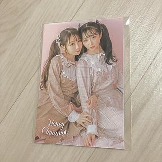 ハニーシナモン(Honey Cinnamon)のHoney Cinnamon ノベルティ ポストカード♡ (その他)