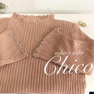 who's who Chico - 2020ss🐝¥5390【Chico】メローカットソー メローニット