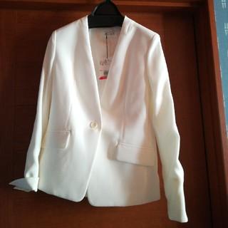 PLST - PLST  ストレッチダブルクロス カラーレスジャケット