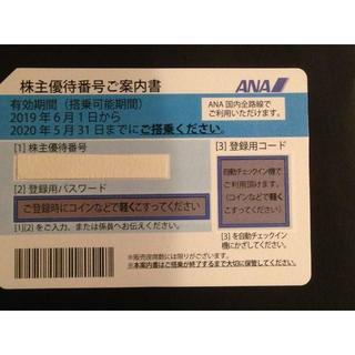 ANA(全日本空輸) - ANA 株主優待券 2枚(有効期限2020年5月31日)0223