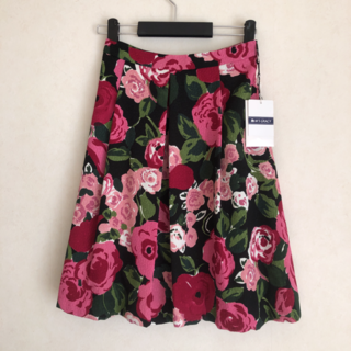 M'S GRACY - エムズグレイシー   花柄スカート size38