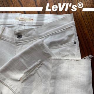 リーバイス(Levi's)のLevi'sのホワイトデニム(デニム/ジーンズ)