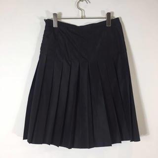 エンポリオアルマーニ(Emporio Armani)のエンポリオ アルマーニ フレアスカート ブラック サイズ38 ふんわり(ひざ丈スカート)