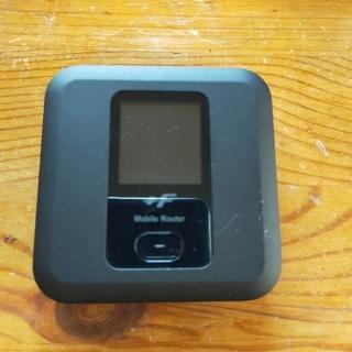 フジツウ(富士通)のモバイルルーター FS030W 充電ケーブル付き(その他)