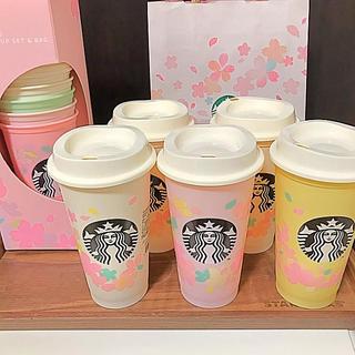Starbucks Coffee - スターバックス さくら2020 リユーザブルカップ 473ml 5個
