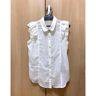 チュー(CHU XXX)のブラウス 白 ノースリーブ(シャツ/ブラウス(半袖/袖なし))