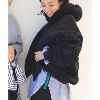 L'Appartement DEUXIEME CLASSE - ほぼ新品✨Deuxieme Classe ボアフードパーカー★31,900円