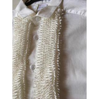 コムデギャルソン(COMME des GARCONS)のcucuri  絞りシャツ 有松絞り /コムデギャルソン(シャツ/ブラウス(長袖/七分))