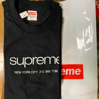 Supreme - supreme 20ss week1 shop tee Black M