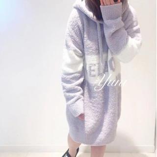 gelato pique - レア♡ストリートジャガードドレス♡ラベンダー