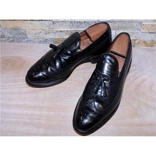 Allen Edmonds - アレンエドモンズ Berwich ウイングチップローファー 黒 27,528cm