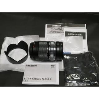 オリンパス(OLYMPUS)のオリンパスM.ZUIKO14-150mmF4,0-5,6Ⅱメーカー保証(レンズ(ズーム))