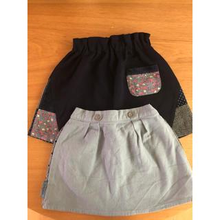 ラグマート(RAG MART)の新品未使用☆ラグマート スカート 2点 90 95(スカート)
