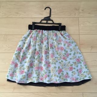 クイーンズコート(QUEENS COURT)のクイーンズコート リバーシブルスカート  0サイズ(ミニスカート)