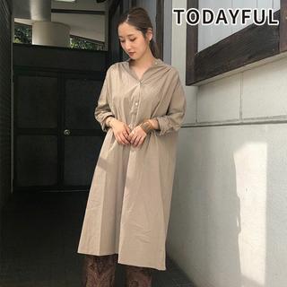 TODAYFUL - [新品未使用] トゥデイフル Gather Shirts Dress