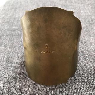 ネストローブ(nest Robe)の真鍮 バングル  waltz  アクセサリー  (ブレスレット/バングル)