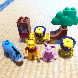 Lego - レゴ デュプロ プーさん フィギュア  部品