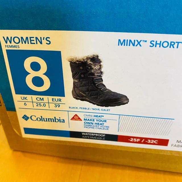 Columbia(コロンビア)の【新品未使用】Columbia レディーススノーシューズ 25cm レディースの靴/シューズ(ブーツ)の商品写真