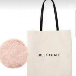 JILLSTUART - ジルスチュアート ロゴトート&ファーポーチ