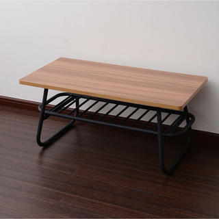 【送料無料】Factory Black Low Table(ローテーブル)