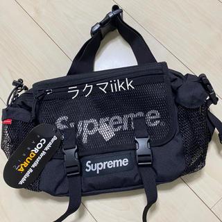 Supreme - 黒 Waist Bag  ウエストバッグ