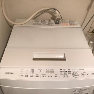 東芝 - 使用期間2年未満 東芝 全自動洗濯機 TOSHIBA AW-7D6(W)