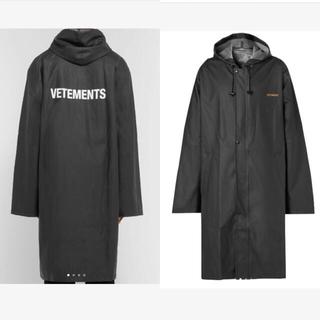 VETEMENTS ヴェトモン 2016 Oversized Raincoat(レインコート)