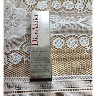 クリスチャンディオール(Christian Dior)のDior リップグロウ201ピンク 新品(口紅)