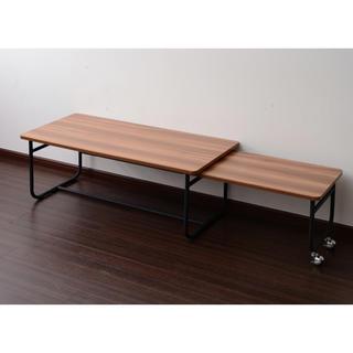 【送料無料】Factory Black Stretch Table(ローテーブル)